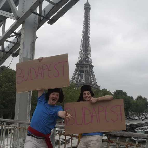 Paris-Budapest en auto-stop